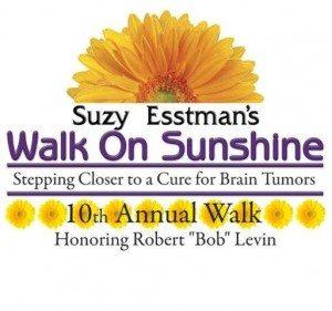 Suzy Esstman's Walk on Sunshine, honouring Rob Levin logo