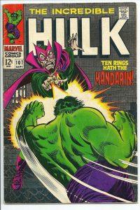 Incredible Hulk comic #107