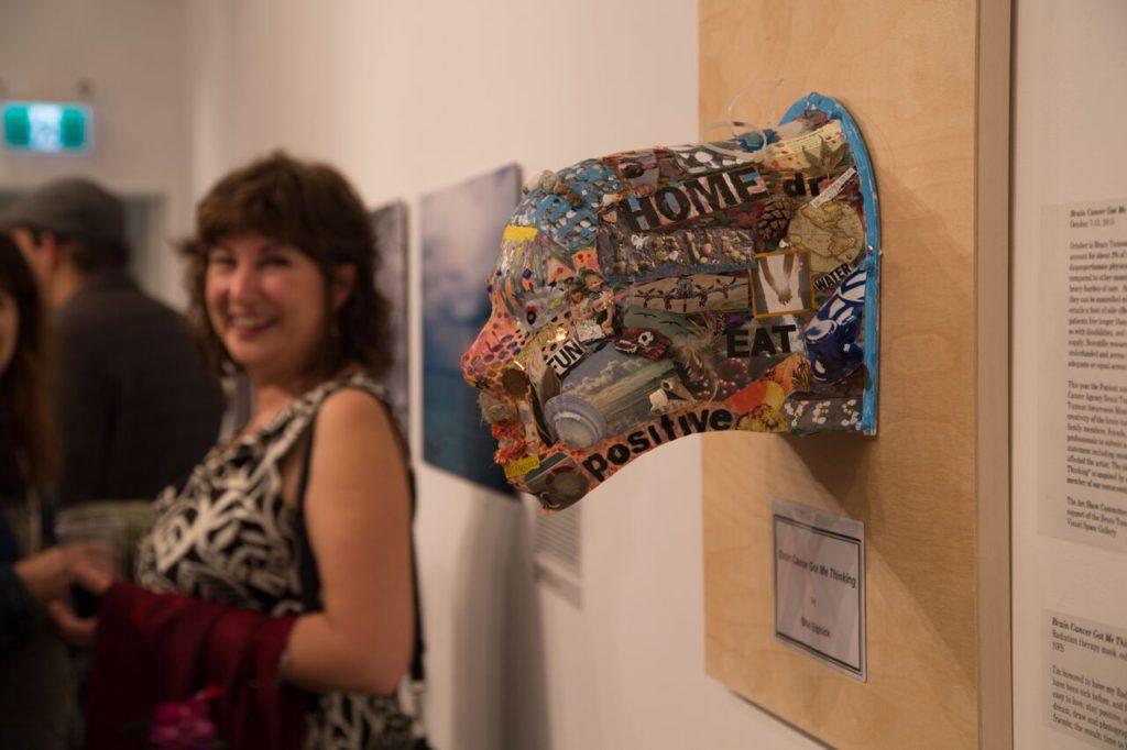 Rosie Cashman BCCA Art Show mask 2
