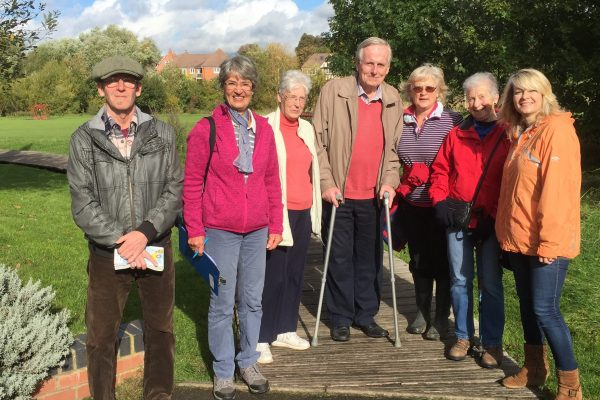 The Worcestershire Brain Tumour Support Group once again supported the IBTA Walk around the World for Brain Tumours, by walking around one of the many beautiful parks in Worcester, England