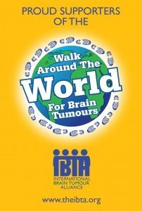 Walk Around the World for Brain Tumours Official Graphic