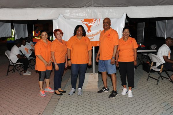 "Members of the Brain Tumour Foundation (Cayman Islands) ""The Forgotten"" organisation"